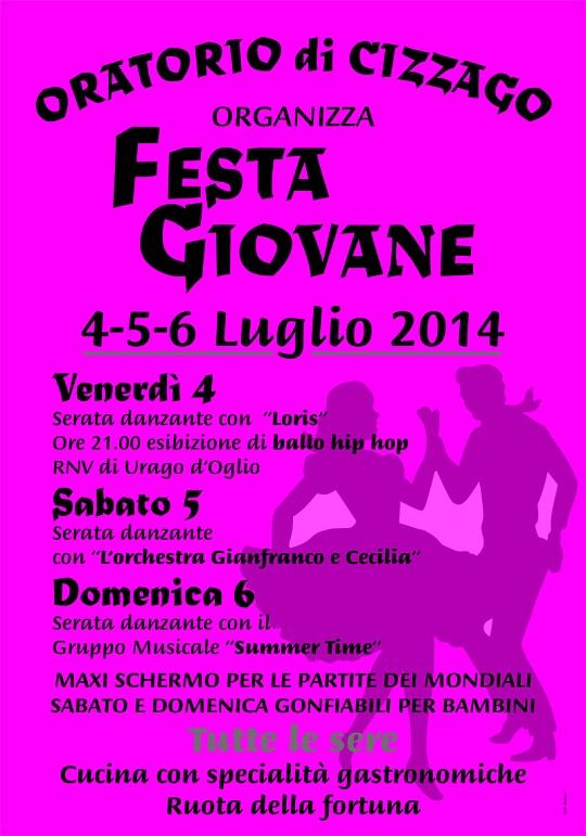 Festa del Giovane 2014 Cizzago