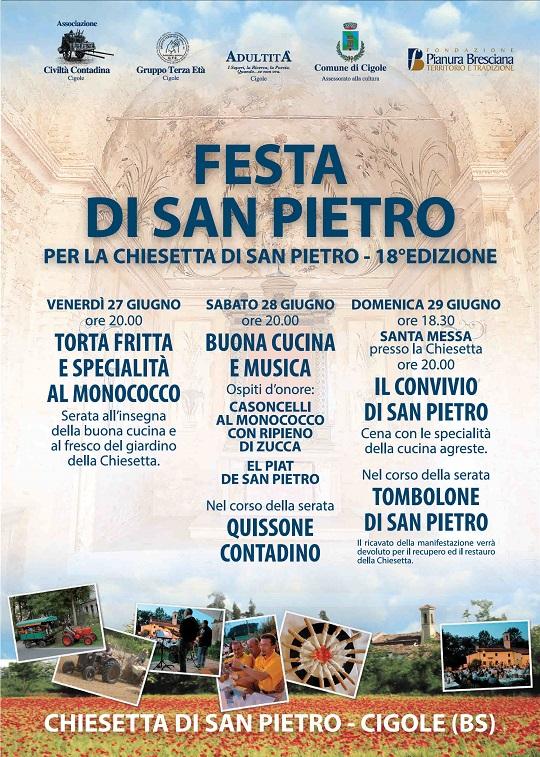 Festa di San Pietro 2014 Cigole