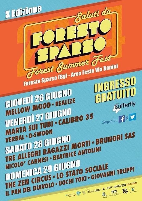 Forest Summer Fest 2014 Foresto Sparso (BG)