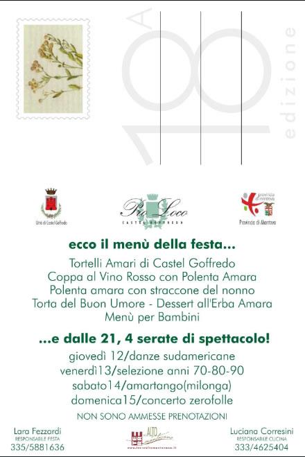 Grande Festa del Tortello Amaro Castel Goffredo (MN)