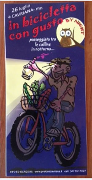 In Bicicletta Con Gusto a Cavriana (MN)