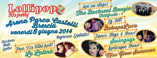 Lollipop 50'S Party 2014 Brescia