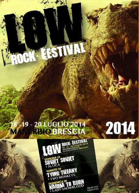 Low Rock Festival 2014 Manerbio