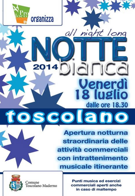 Notte Bianca a Toscolano