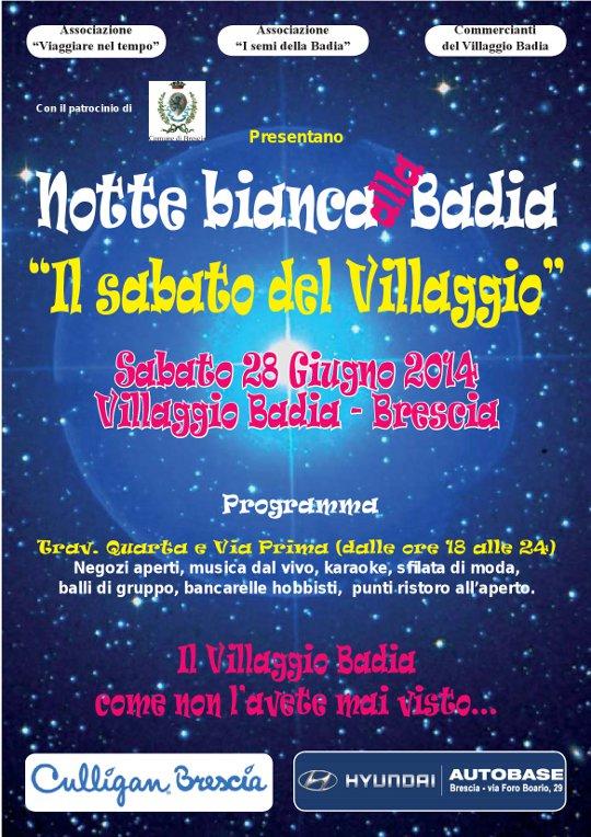 Notte Bianca a Villaggio Badia