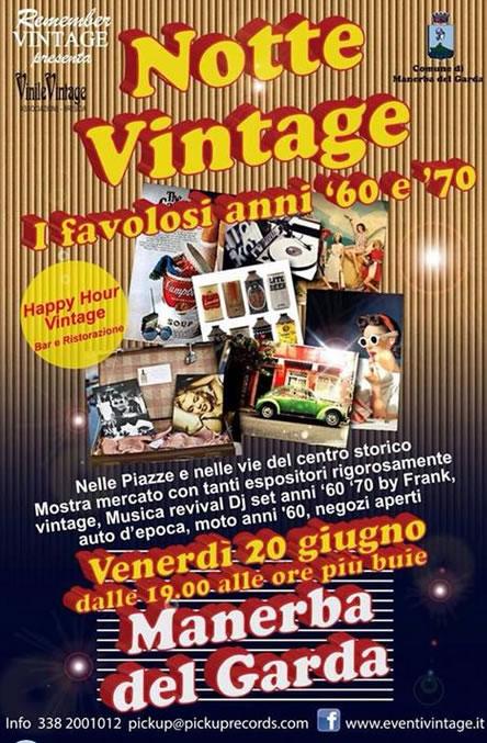 Notte Vintage a Manerba del Garda