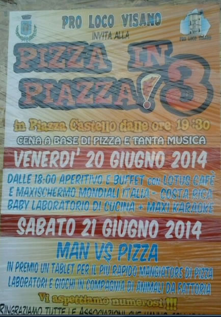 Pizza in Piazza a Visano