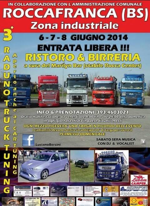 Raduno Truck Tuning 2014 Roccafranca