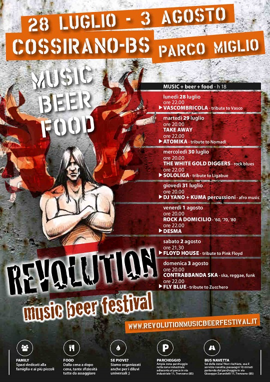 Revolution Music Beer Festival 2014 Cossirano