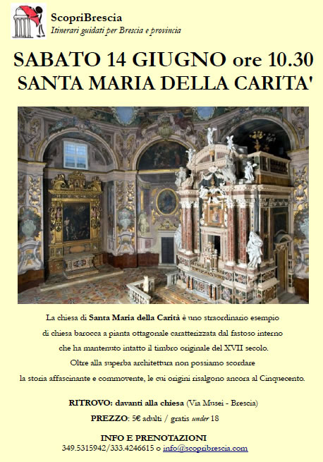 Santa Maria della Carità con ScopriBrescia