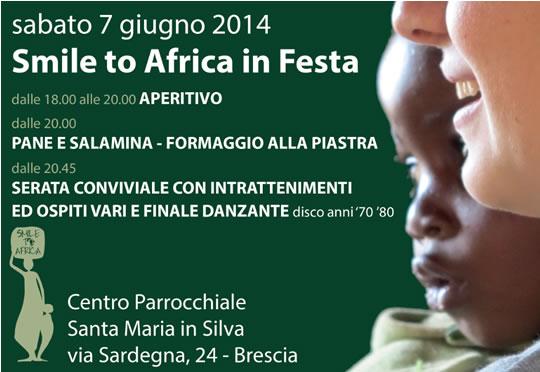 Smile to Africa in Festa a Brescia