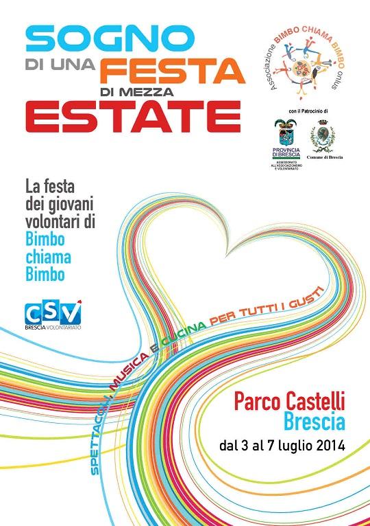 Sogno di una Festa di  mezza Estate 2014 Brescia