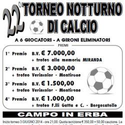 Torneo Notturno di Calcio a Porzano di Leno
