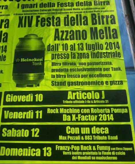 14 Festa della Birra di Azzano Mella