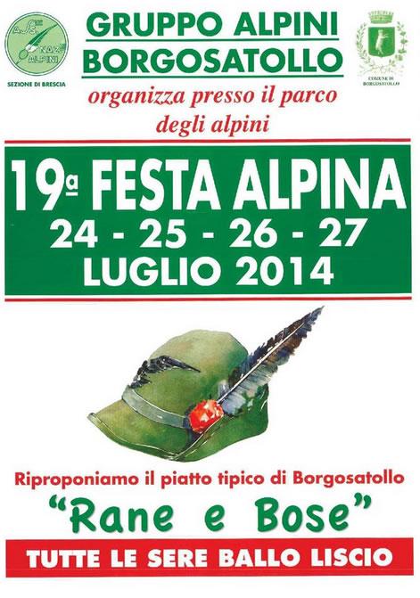 19° Festa Alpina a Borgosatollo
