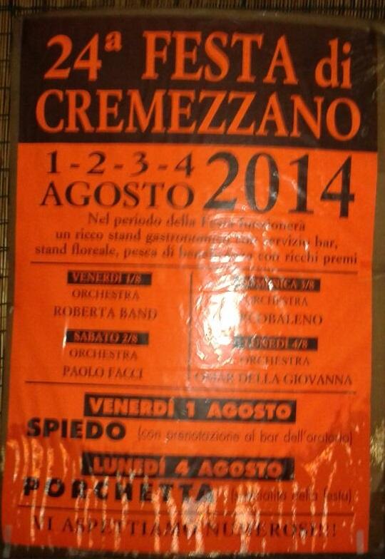 24° Festa di Cremezzano 2014
