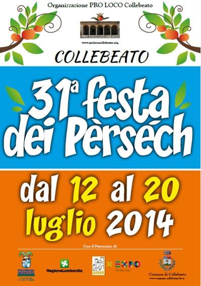 31° Festa dei Persech a Collebeato