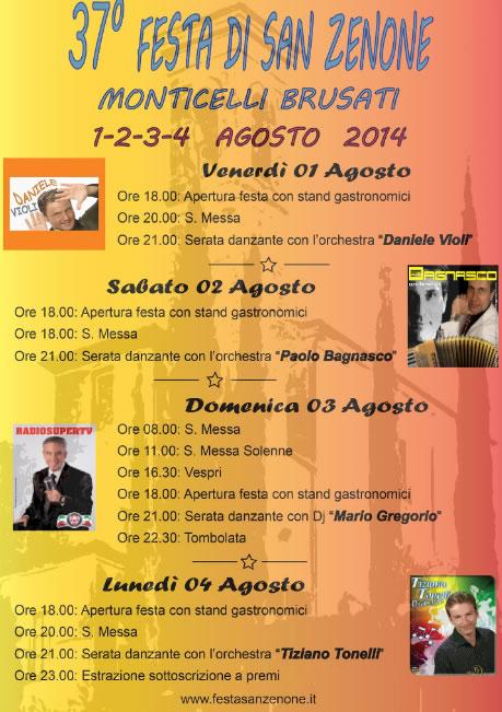 37° Festa di San Zenone a Monticelli Brusati