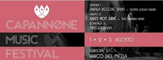 Capannone Music Festival a Gardone VT