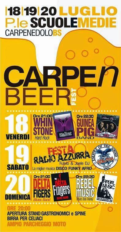 Carpe'n Beer Fest 2014 Carpenedolo