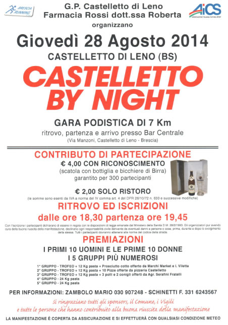 Castelletto By Night a Leno