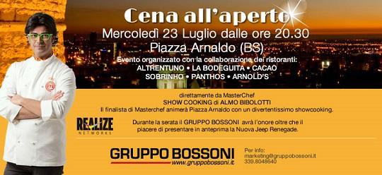 Cena all'aperto 2014 Brescia