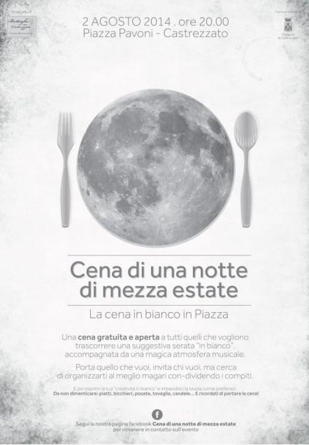 Cena di una Notte di Mezza Estate a Castrezzato