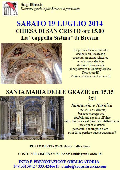 Chiesa di San Cristo con ScopriBrescia