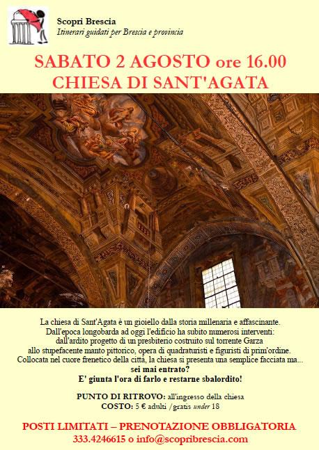 Chiesa di Sant'Agata con ScopriBrescia