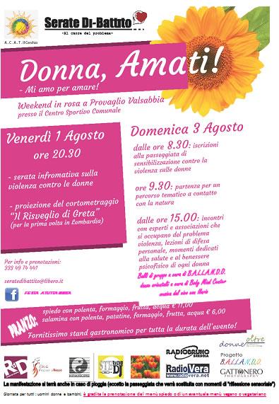 Donna Amati a Provaglio Valsabbia