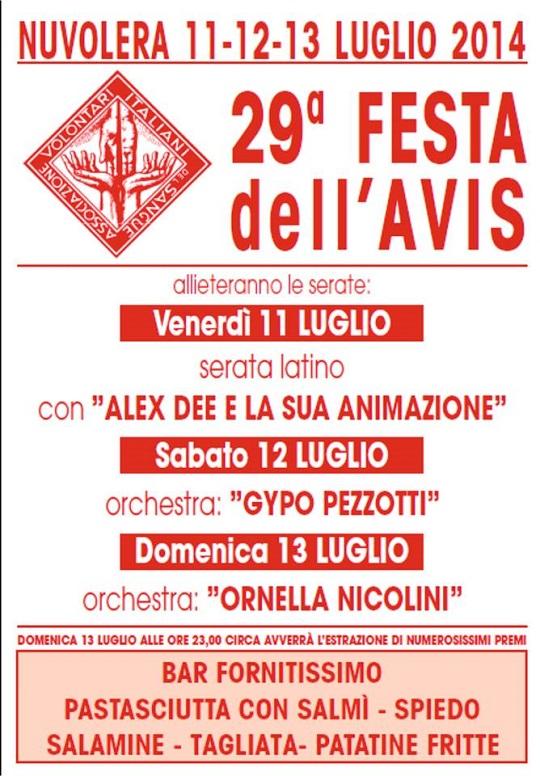 Festa Avis Nuvolera 2014