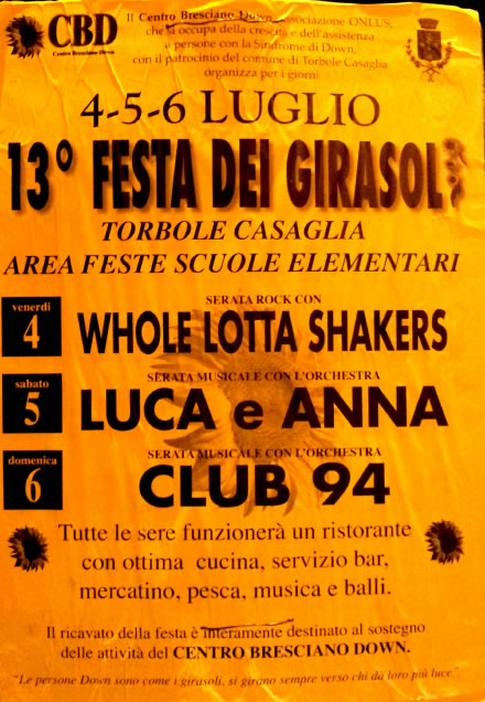 Festa dei Girasoli a Torbole