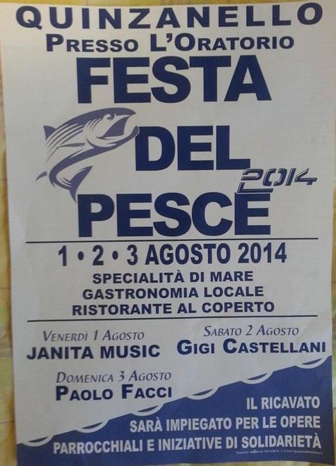Festa del Pesce 2014 a Quinzanello