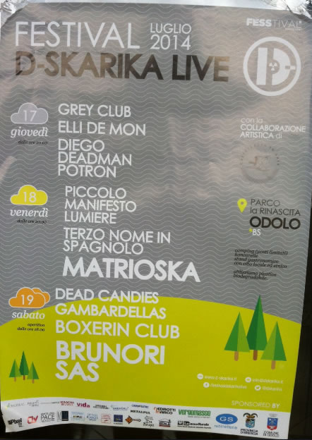 Festival D-Skarika Live a Odolo