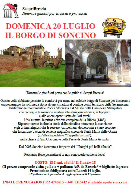 Il Borgo di Soncino con ScopriBrescia