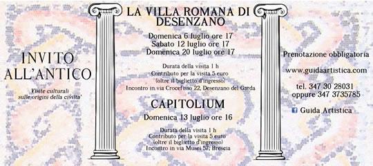 La Villa Romana di Desenzano con Guida Artistica