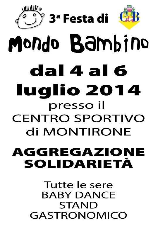Mondo Bambino 2014 Montirone