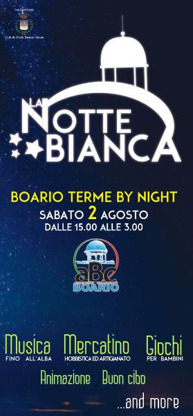 Notte Bianca a Boario Terme