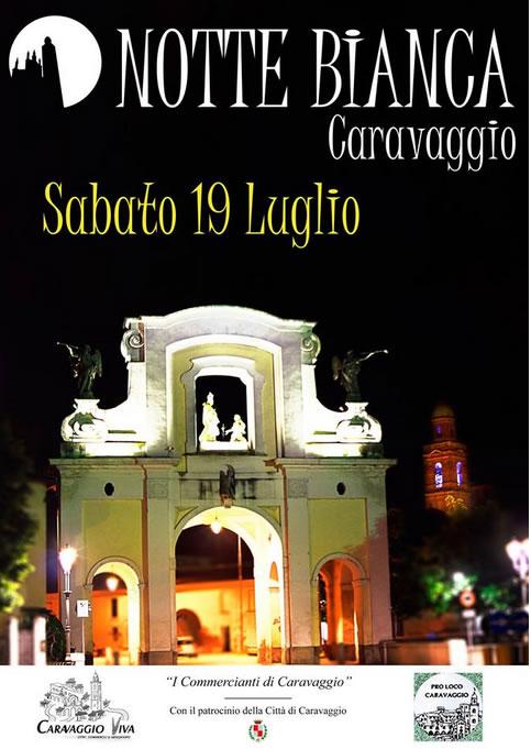 Notte Bianca a Caravaggio (BG)