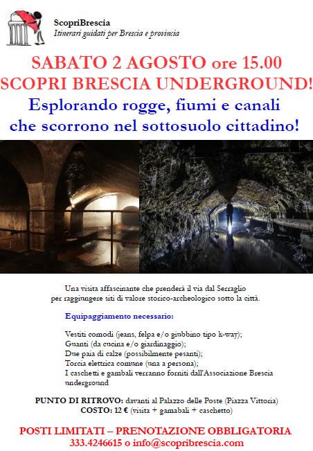 Scopri Brescia Underground