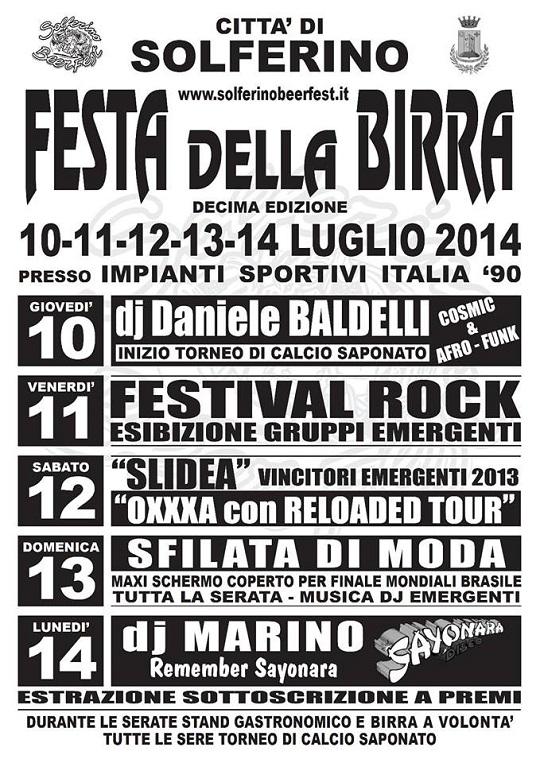 Solferino Beer Fest 2014