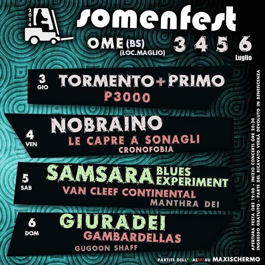 Somenfest 2014 Ome