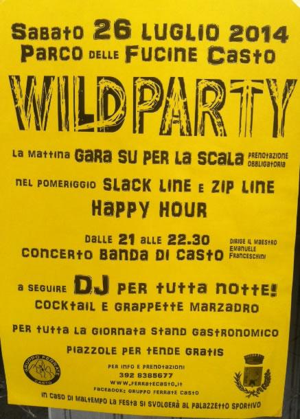 Wild Party a Casto