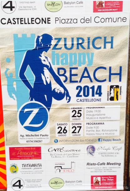 Zurich Happy Beach a Castelleone (CR)