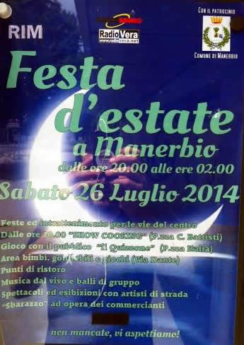 festa estate a Manerbio