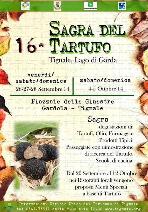 16° Sagra del Tartufo a Tignale