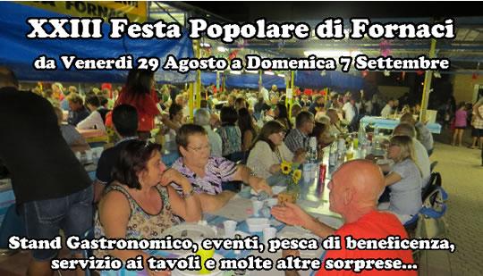 23° Festa Popolare di Fornaci