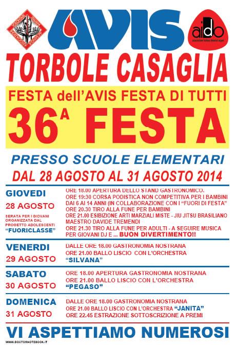 36° Festa Avis a Torbole Casaglia