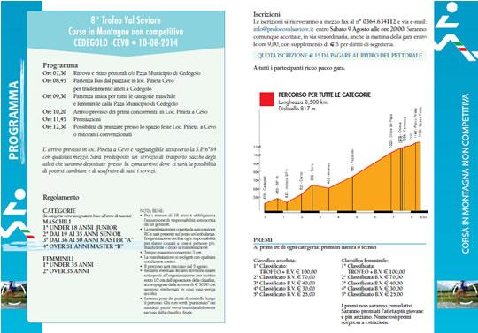 8° Trofeo Val Saviore Cedegolo Cevo