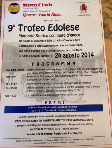 9° Trofeo Edolese